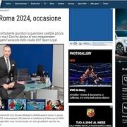 di cintio sportal olimpiadi roma 2024